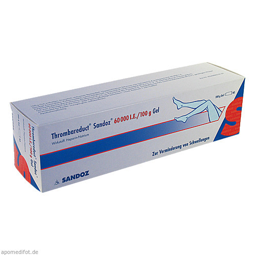 Thrombareduct Sandoz 60 000 I.E. Gel, 200 G, HEXAL AG