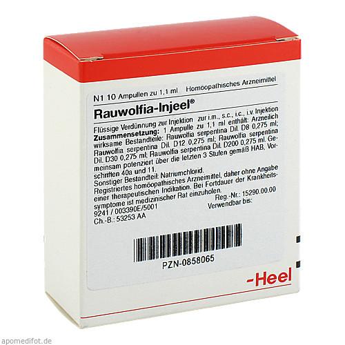 RAUWOLFIA INJ, 10 ST, Biologische Heilmittel Heel GmbH
