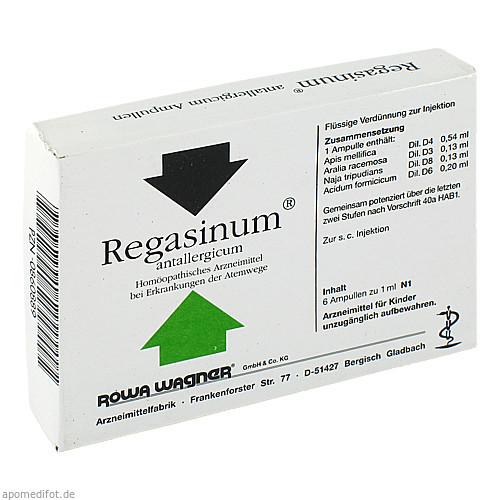 REGASINUM ANTALLERGICUM, 6X1 ML, Rowa Wagner GmbH & Co. KG