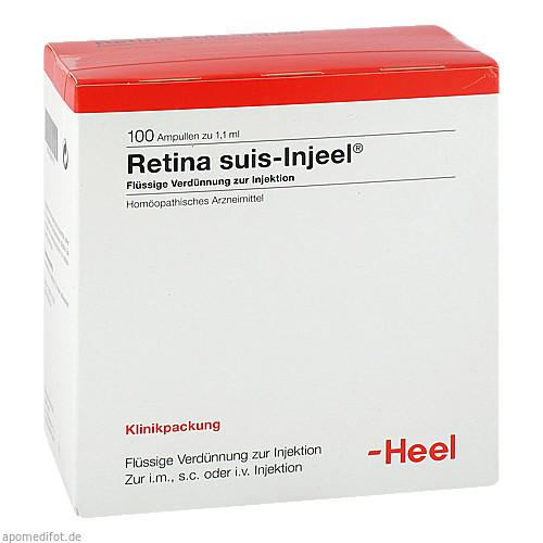 RETINA SUIS Injeel Ampullen, 100 ST, Biologische Heilmittel Heel GmbH