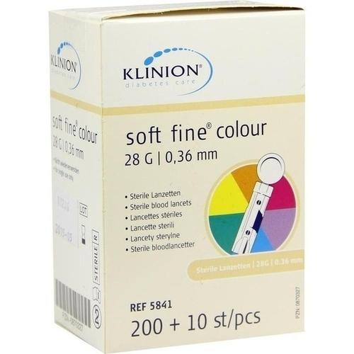 Klinion soft fine colour 28G, 210 ST, Eu-Medical GmbH