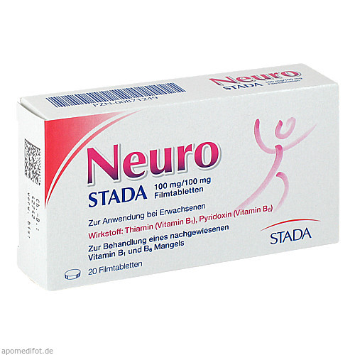 Neuro STADA 100mg/100mg Filmtabletten, 20 ST, STADA GmbH