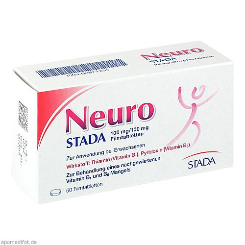 Neuro STADA 100mg/100mg Filmtabletten, 50 ST, STADA GmbH