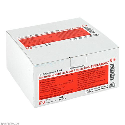 Isotonische Natriumchlorid-Lösung 0.9% EIFELFANGO, 100X2 ML, Eifelfango GmbH & Co. KG