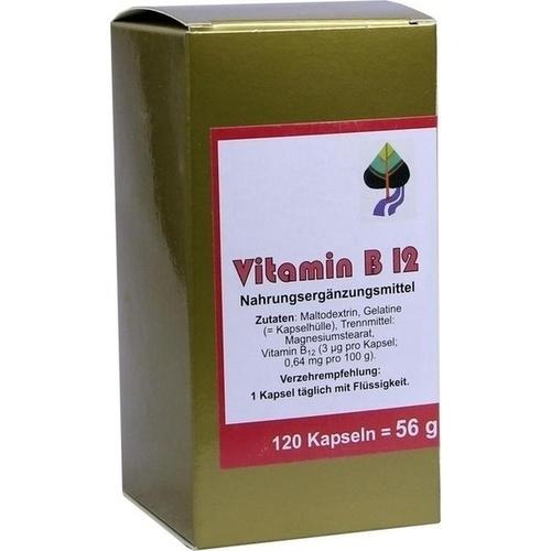 Vitamin B12, 120 ST, Aalborg Pharma GmbH