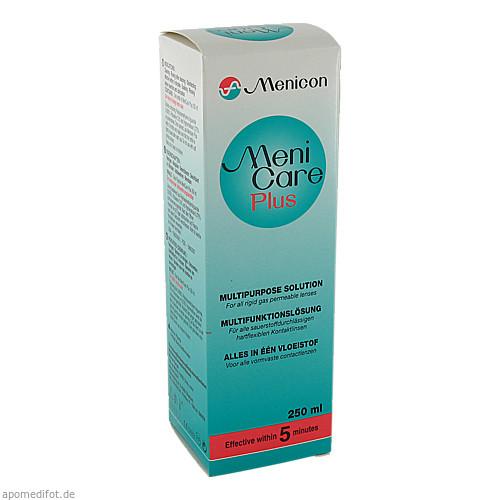 Meni Care Plus Kontaktlinsenpflegemittel, 250 ML, Menicon GmbH