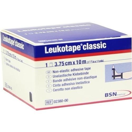 Leukotape classic 3.75cmx10m schwarz Rolle, 1 ST, Bsn Medical GmbH