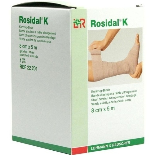 ROSIDAL BIN KRAEFT 8cmX5M, 1 ST, Lohmann & Rauscher GmbH & Co. KG