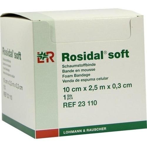 Rosidal Soft 10x0.3cmx2.5m, 1 ST, Lohmann & Rauscher GmbH & Co. KG