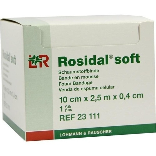 Rosidal Soft 10x0.4cmx2.5m, 1 ST, Lohmann & Rauscher GmbH & Co. KG