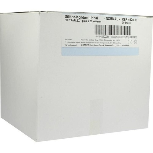 Kondomurinal Silikon Ultraflex 36mm 4920, 30 ST, Uromed Kurt Drews KG