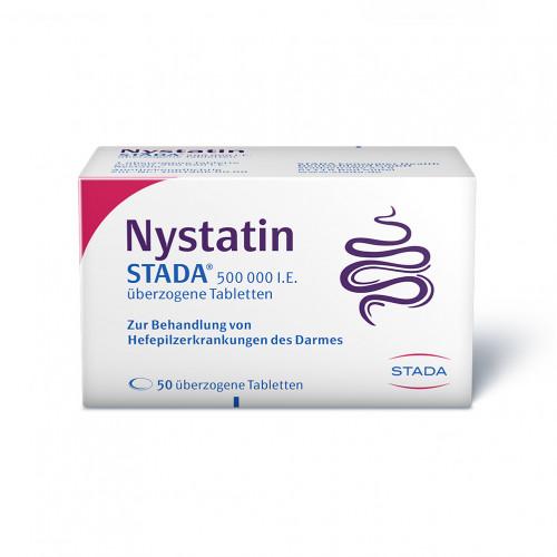 Nystatin STADA 500.000 I.E. überzogene Tabletten, 50 ST, STADAPHARM GmbH