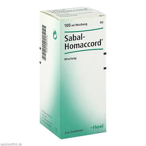 SABAL HOMACCORD, 100 ML, Biologische Heilmittel Heel GmbH