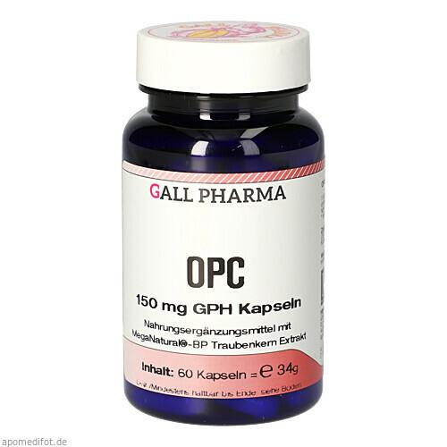 OPC 150mg GPH Kapseln, 60 ST, Hecht-Pharma GmbH