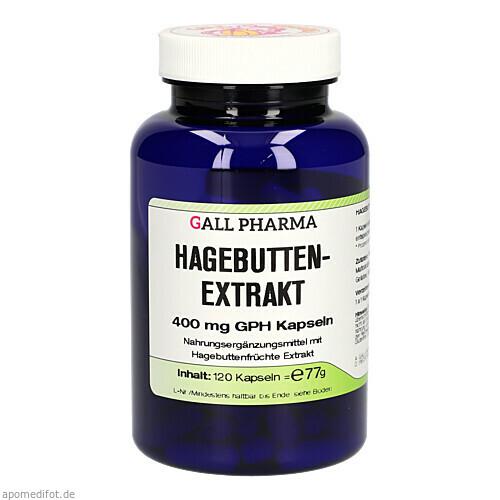 Hagebuttenextrakt 400mg GPH Kapseln, 120 ST, Hecht-Pharma GmbH