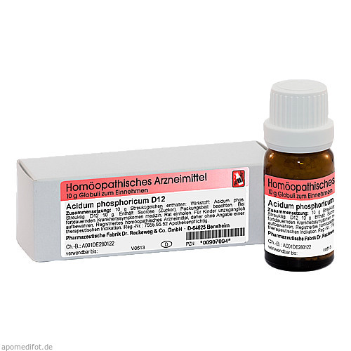 Acidum phosphoricum D12, 10 G, Dr.Reckeweg & Co. GmbH