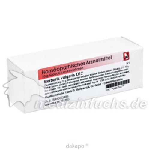 Berberis vulgaris D12, 10 G, Dr.Reckeweg & Co. GmbH