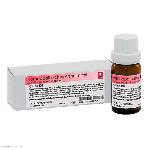 China D6, 10 G, Dr.Reckeweg & Co. GmbH