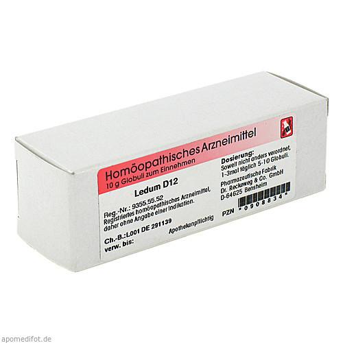 Ledum D12, 10 G, Dr.Reckeweg & Co. GmbH
