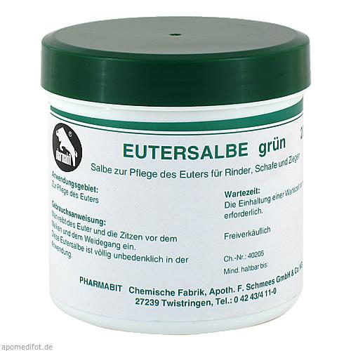 Eutersalbe grün vet, 200 G, Pharmamedico GmbH