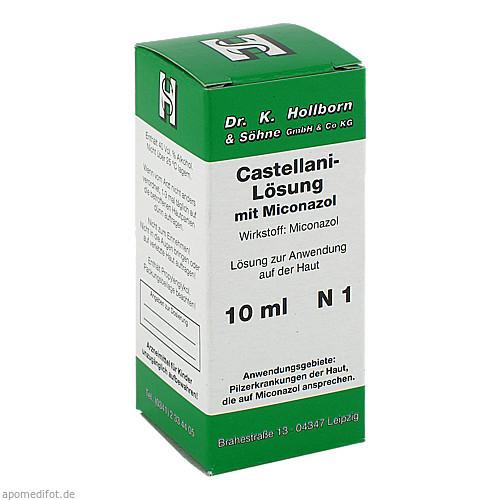 Castellani-Lösung mit Miconazol, 10 ML, Dr.K.Hollborn & Söhne GmbH & Co. KG