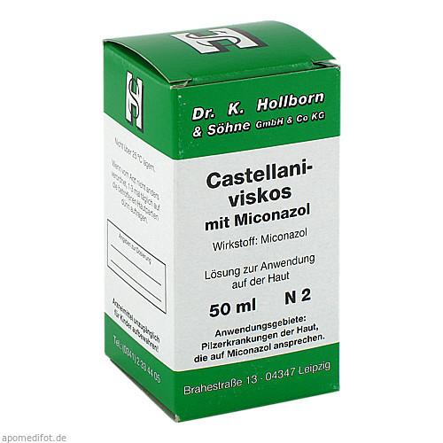 Castellani-viskos mit Miconazol, 50 ML, Dr.K.Hollborn & Söhne GmbH & Co. KG