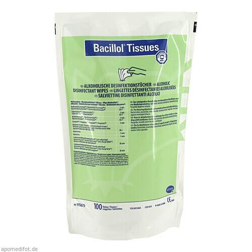 BACILLOL Tissues Nachfüllpackung, 100 ST, Paul Hartmann AG