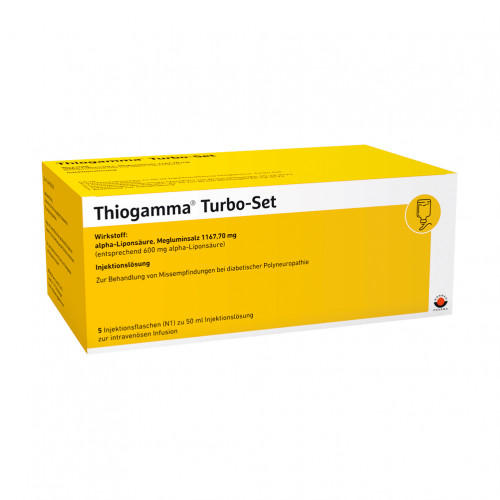 Thiogamma TurboSet, 5X50 ML, Wörwag Pharma GmbH & Co. KG
