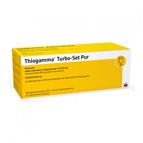 Thiogamma TurboSet Pur, 10X50 ML, Wörwag Pharma GmbH & Co. KG