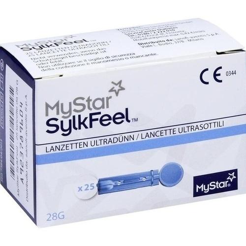 MyStar SylkFeel Lanzetten 28G, 25 ST, Sanofi-Aventis Deutschland GmbH