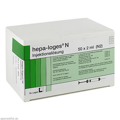 HEPA LOGES N Injektionslösung Ampullen, 50X2 ML, Dr. Loges + Co. GmbH