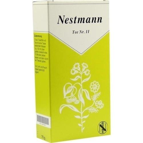 Tee Nr.11 Nestmannn, 70 G, Nestmann Pharma GmbH