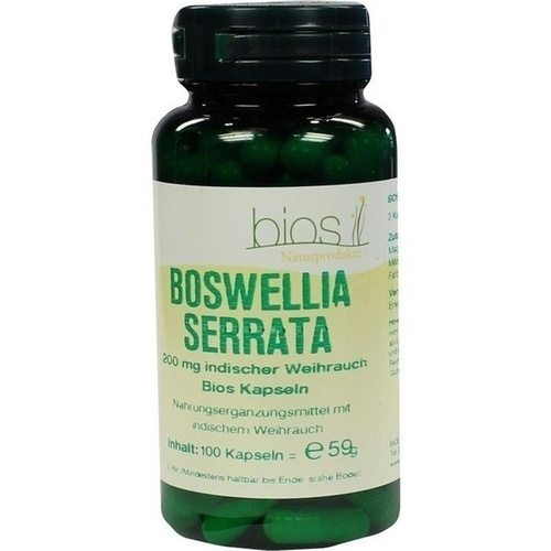 Boswellia Serrata 200mg Ind Weihrauch Bios Kapseln, 100 ST, Bios Medical Services