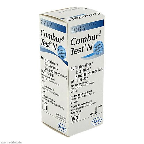 Combur 4-Test N, 50 ST, Roche Diagnostics Deutschland GmbH