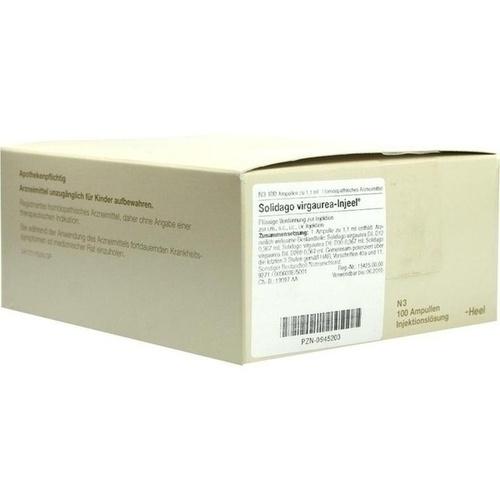 SOLIDAGO VIRGAUREA INJEEL Ampullen, 100 ST, Biologische Heilmittel Heel GmbH