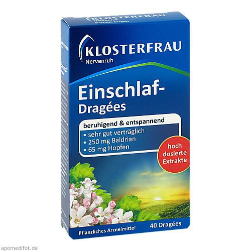 KLOSTERFRAU Einschlaf Dragees Nervenruh, 40 ST, MCM KLOSTERFRAU Vertr. GmbH