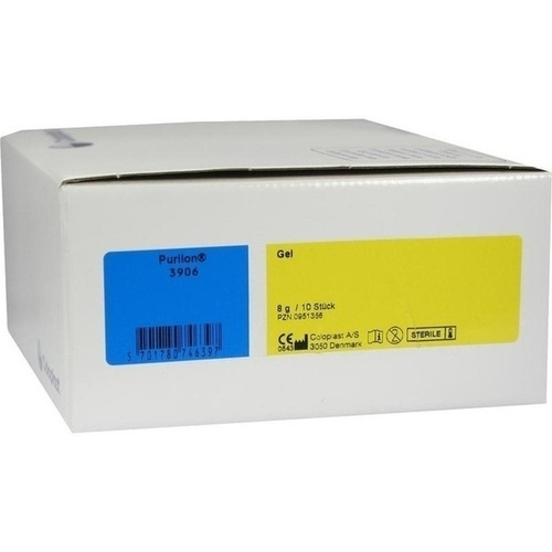Comfeel Purilon Gel, 10X8 G, Coloplast GmbH