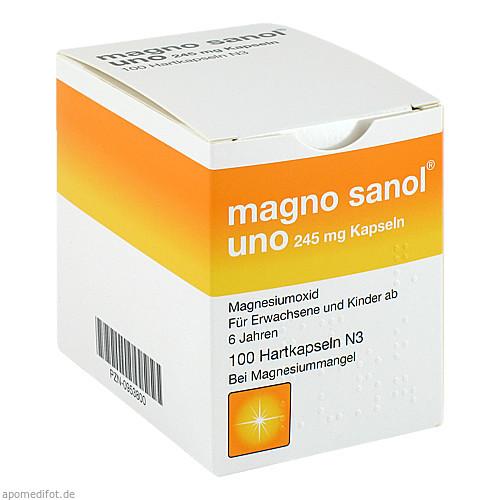 Magno sanol uno 245mg Kapseln, 100 ST, UCB Innere Medizin GmbH & Co. KG