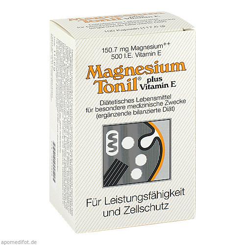 Magnesium Tonil plus Vitamin E, 100 ST, Cheplapharm Arzneimittel GmbH