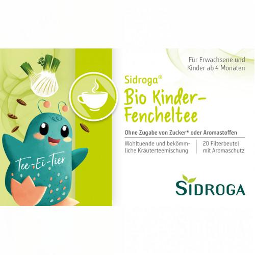 Sidroga Bio Kinder-Fencheltee, 20X2.0 G, Sidroga Gesellschaft Für Gesundheitsprodukte mbH