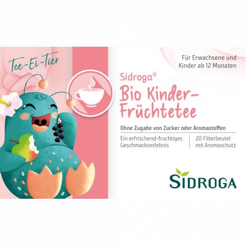 Sidroga Bio Kinder-Früchtetee, 20 ST, Sidroga Gesellschaft Für Gesundheitsprodukte mbH