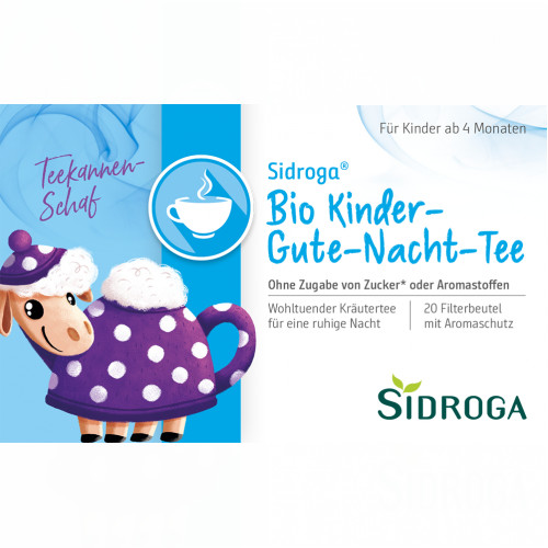 Sidroga Bio Kinder-Gute-Nacht-Tee, 20X1.5 G, Sidroga Gesellschaft Für Gesundheitsprodukte mbH
