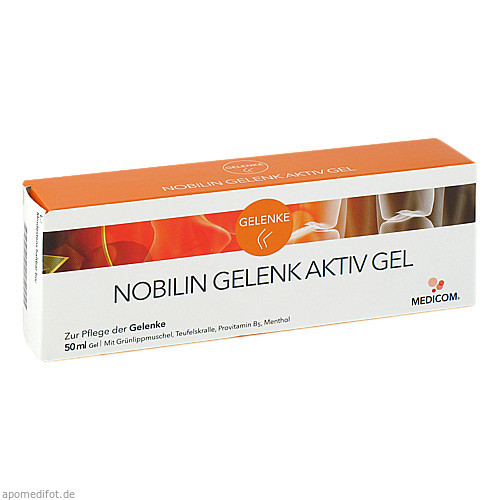 Nobilin Gelenk Aktiv Gel, 50 ML, Medicom Pharma GmbH