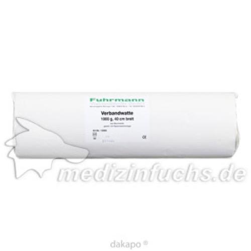 Verbandwatte BW 1000g 40cm Rolle, 1000 G, Fuhrmann GmbH