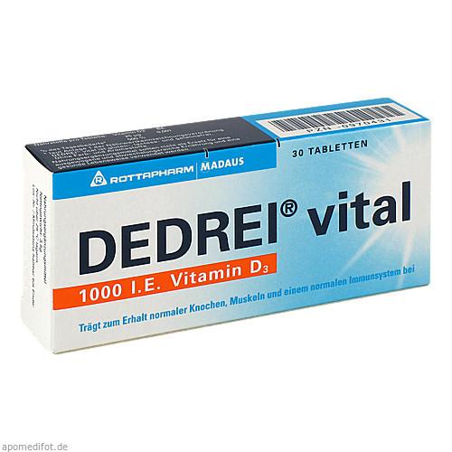 DEDREI vital, 30 ST, MEDA Pharma GmbH & Co.KG