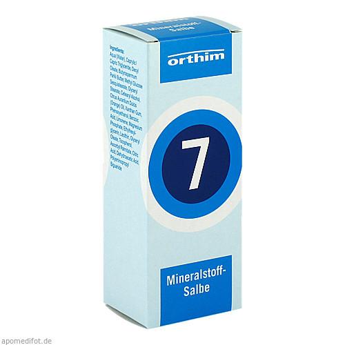 Mineralstoff-Salbe Nr.7, 75 ML, Orthim GmbH & Co. KG