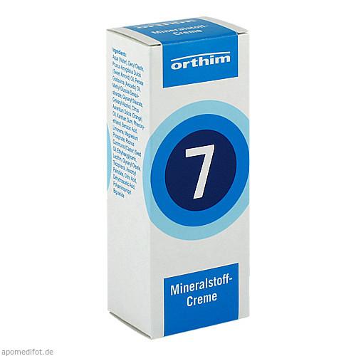 Mineralstoff-Creme Nr.7, 75 ML, Orthim GmbH & Co. KG