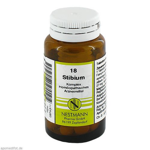 STIBIUM KOMPL NESTM 18, 120 ST, Nestmann Pharma GmbH