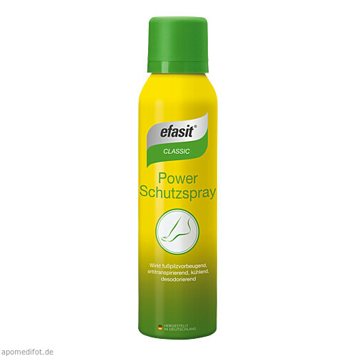 efasit Antitranspirant&Fusspilz Spray, 150 ML, Kyberg experts GmbH