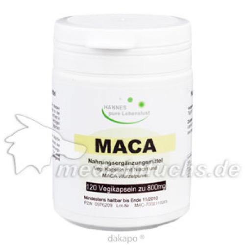 Maca, 120 ST, G & M Naturwaren Import GmbH & Co. KG